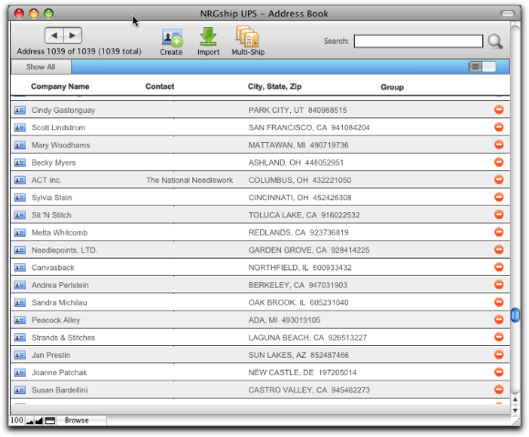 Download import ups address book worldship